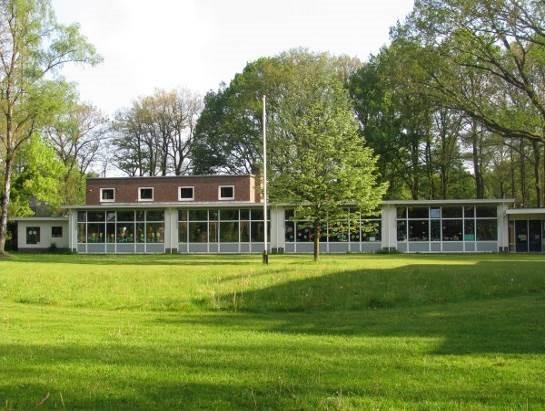 Prinses Beatrixschool in Wolfheze - Buitenkant schoolgebouw